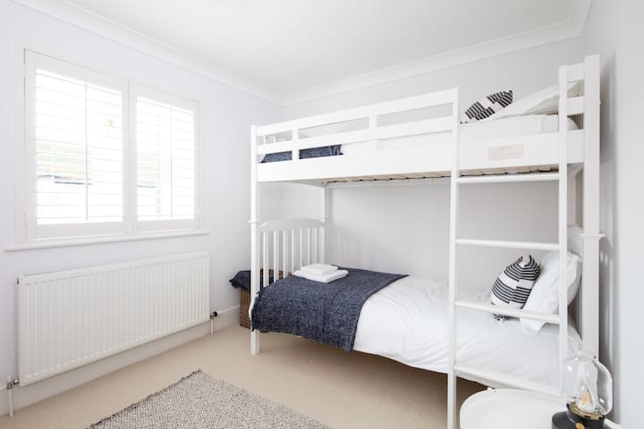 Bunk beds are always popular with younger guests