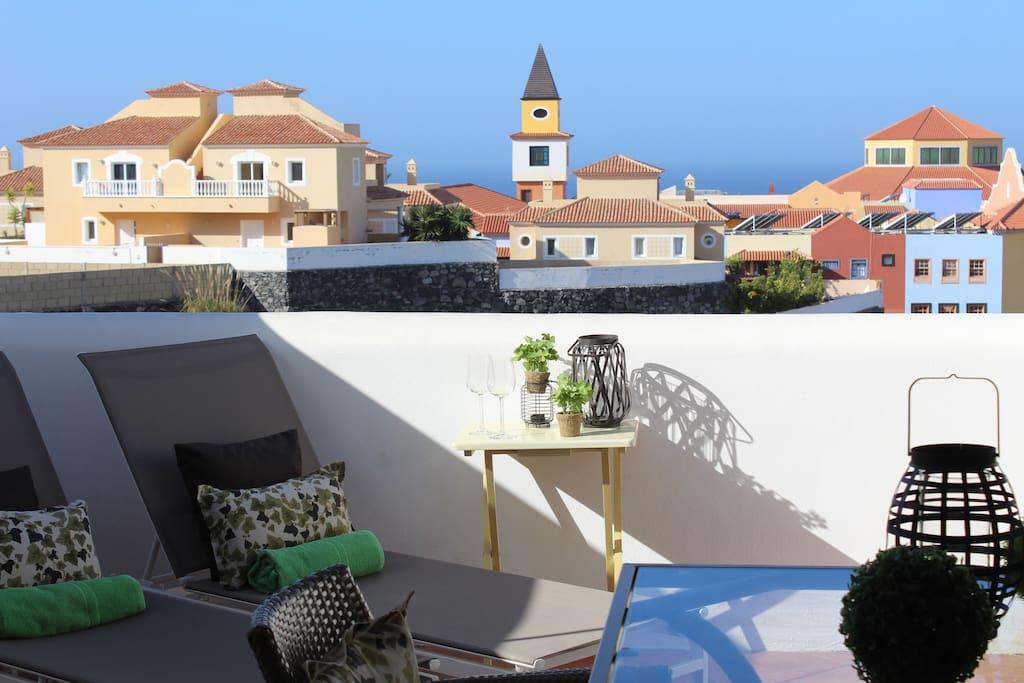 Paradise Suite I: Terraza superior