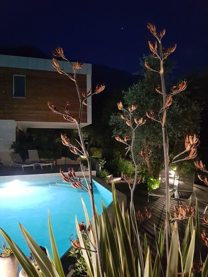 Gardasee Casabana Papavero con balcone e Piscina