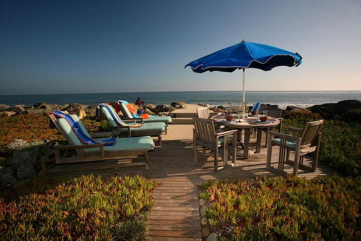 Oceanfront Privacy and Relaxation