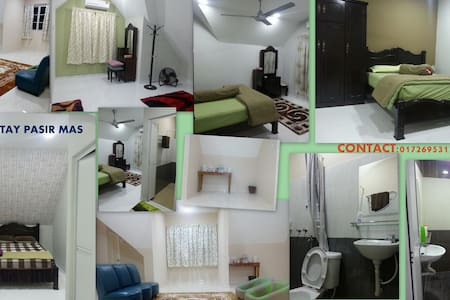 Rooms for rent ( with toilet) - Pasir Mas - Aamiaismajoitus