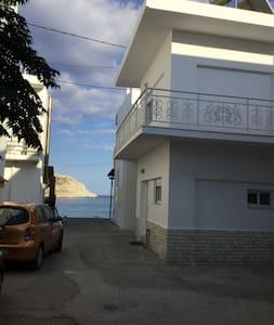 Haraki Beach Townhouse w/Balcony Views of the Sea - Charaki