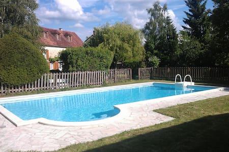 Belle demeure avec piscine - Courson-les-Carrières - 一軒家