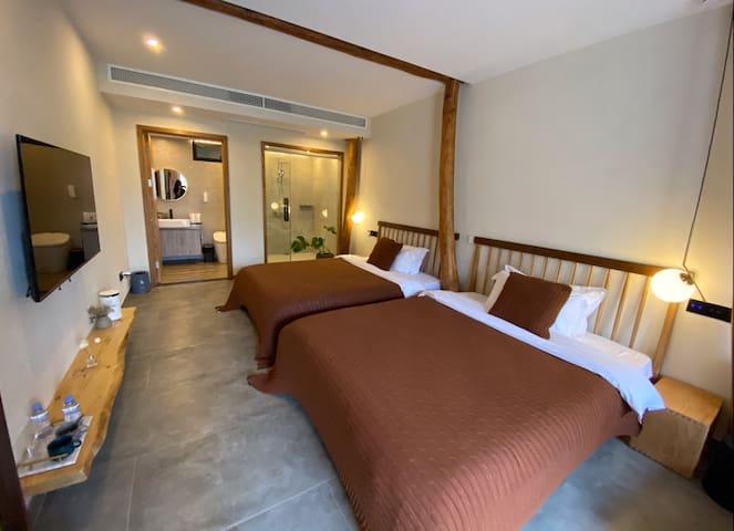 山居山景双床房