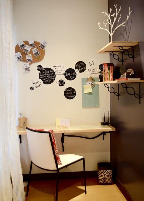 Area de Trabajo || Work Space