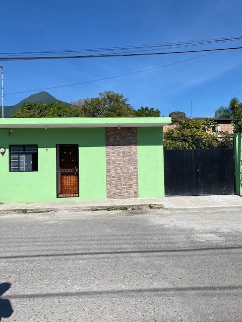 Pequeña y acogedora casa a 10 min del bello Pueblo mágico de Orizaba