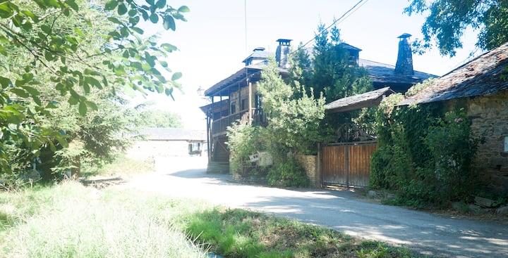 Casa tradicional en el Camino