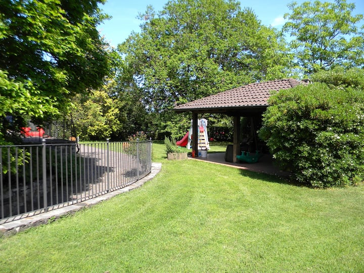 villa con giardino/spiaggia privata