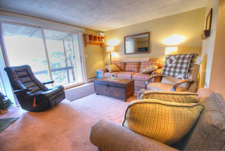 Cute 2BR Stratton Condo halfway up access road