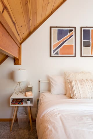 Second bedroom with nightstand