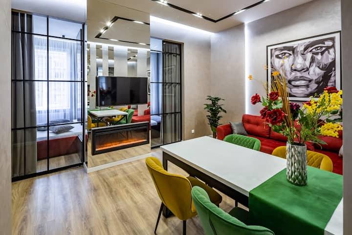 3-кімнатна LUX-квартира у центрі Львова