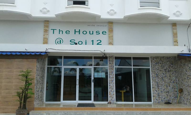 The House Apartment@Soi 12 - Phatthana Nikhom District