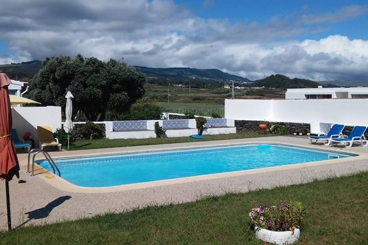 T1 - Two private terraces beautiful views & pool