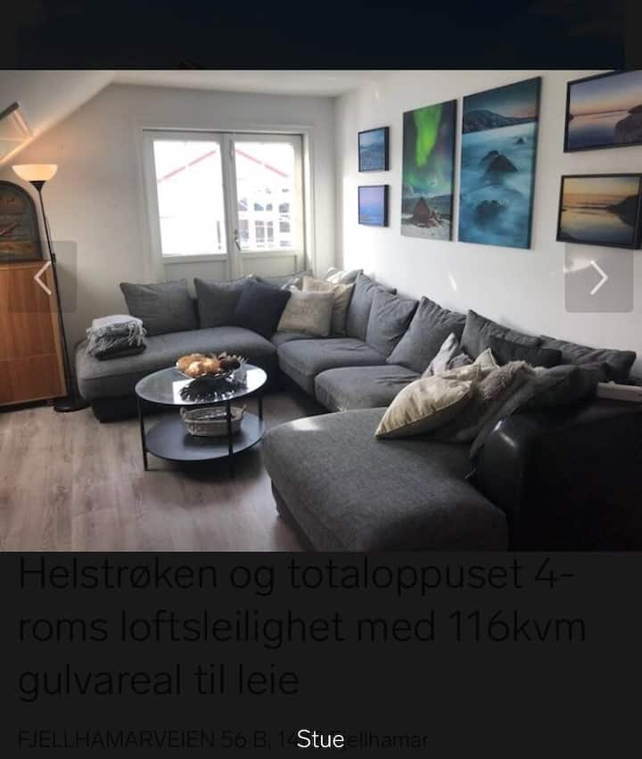 Top floor Fjellhamar