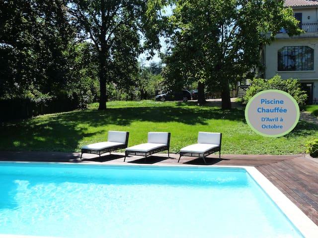 A 5min de Lyon Appartement avec piscine - Écully - อพาร์ทเมนท์