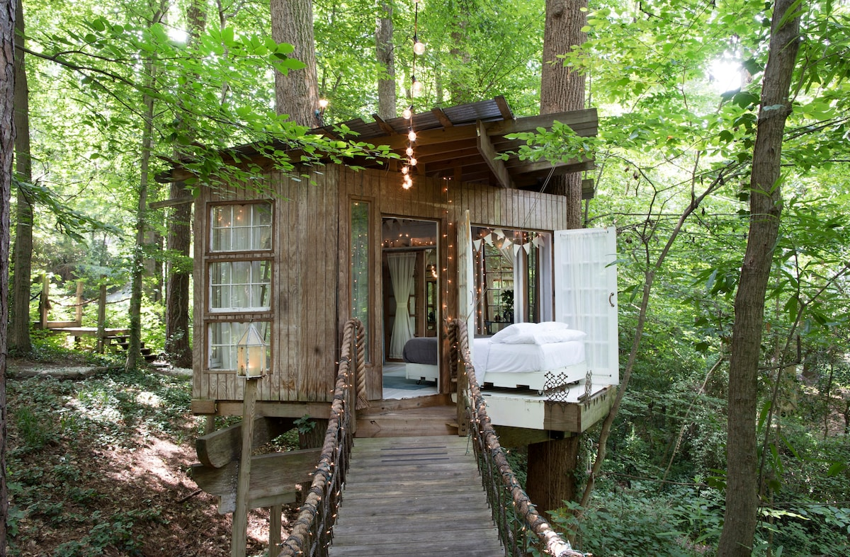 Secluded Intown Treehouse   Treehouses For Rent In Atlanta, Georgia, United  States