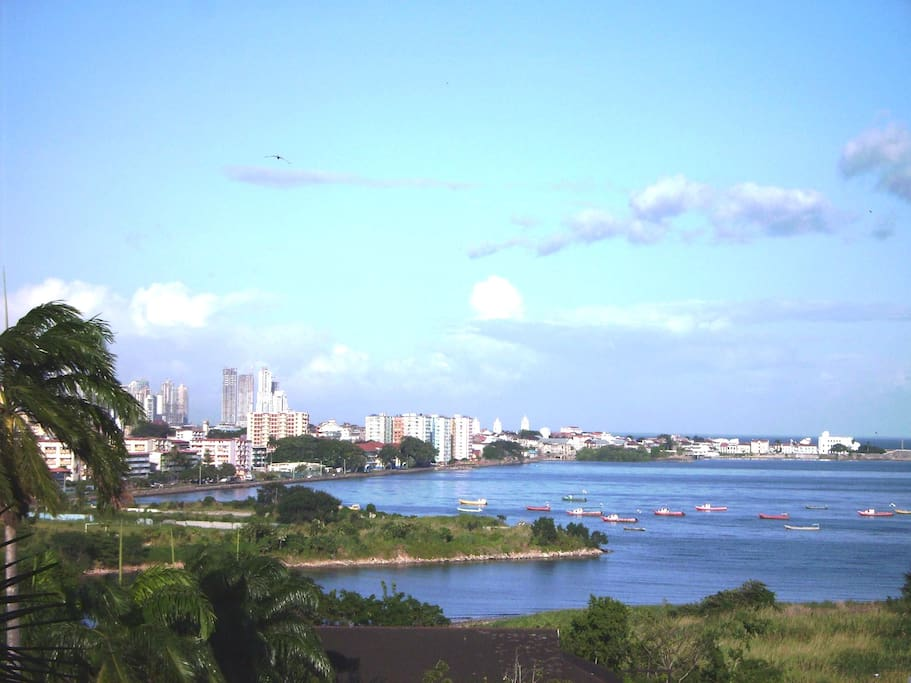 Your view to Casco Viejo & down-town
