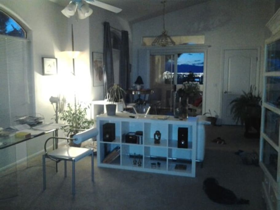 working/ living area