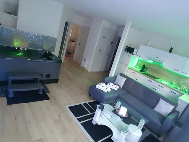 Appartement avec Jacuzzi Privatif - Toulouse - Flat