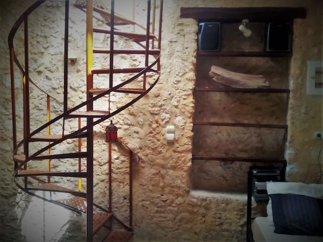 Stone House with Terrace - Rethymno - Flat