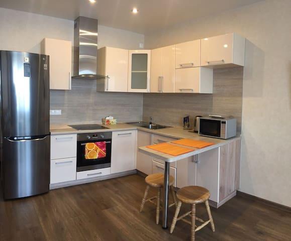 Современная уютная 2-х комнатная квартира-студия
