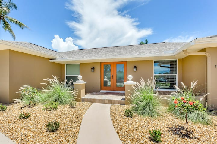 Fully-remodeled, waterfront home w/ private pool - minutes from the beach