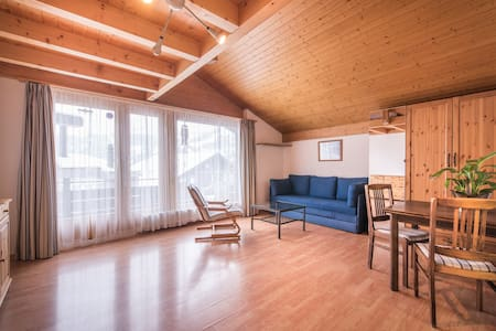 Wengen Winter Wonderland: Mezzanine Studio for 4 - Lauterbrunnen
