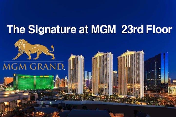 The Signature at MGM Grand High floor Suite