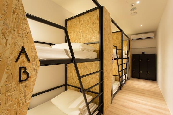 女性宿舍床位 Female Dorm