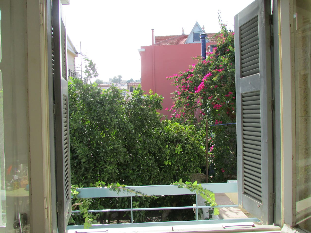 Summer view from rear balcony