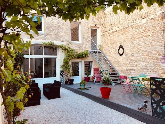 La Maison Madeleine, Bien-Être (Sauna et Jacuzzi)