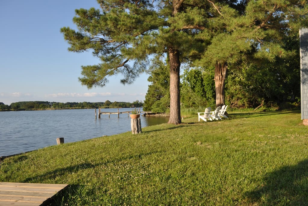 Ball's Creek - a few minutes to the Chesapeake Bay