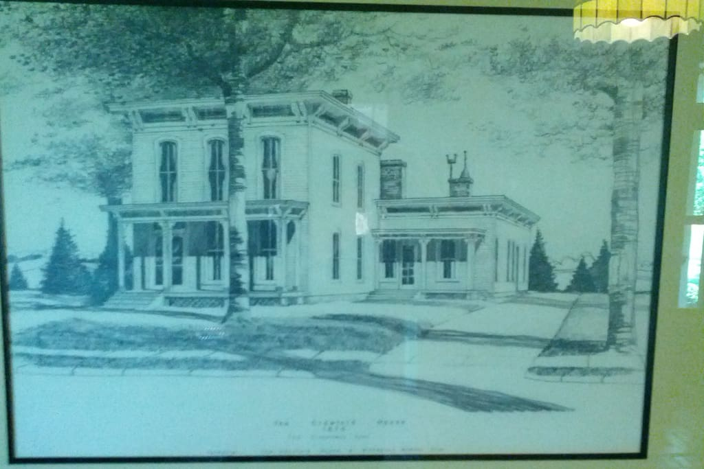 The home in the late 1800's