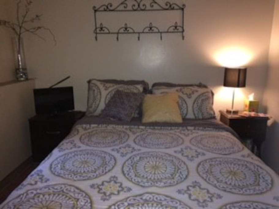 Main Bedroom with TV & Other Amenities