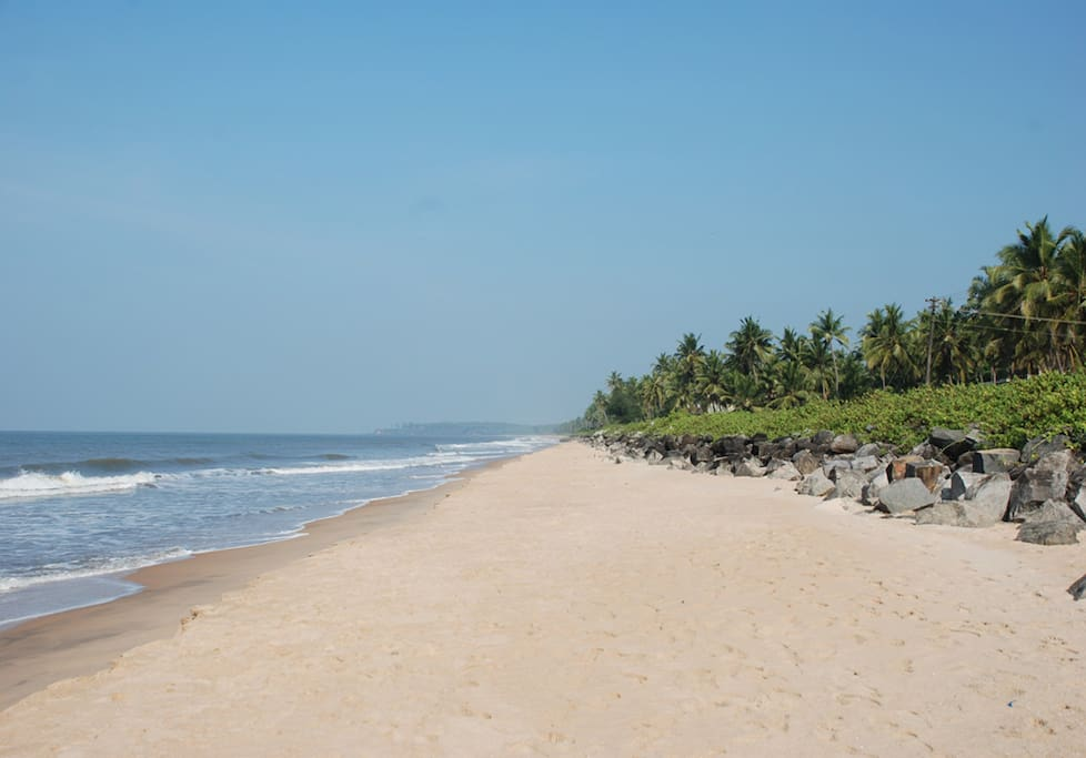 This is chombala beach... very clean and virgin