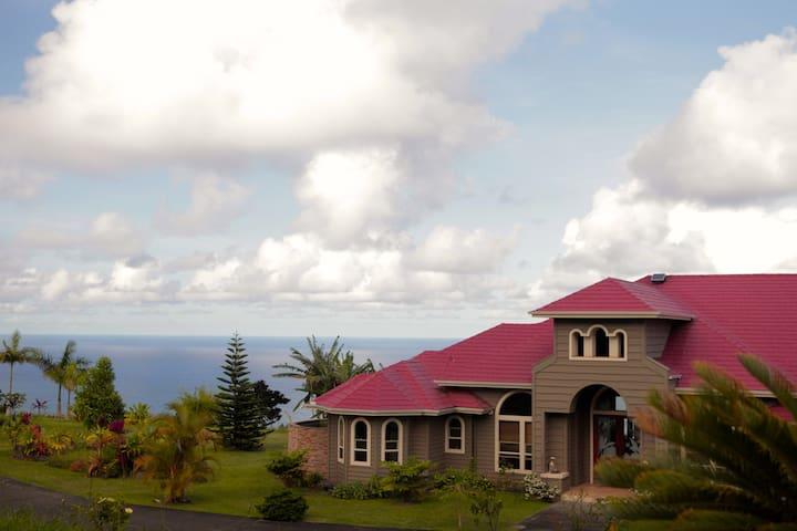 Mahalo Aina Sanctuary, Banyan Room - Laupahoehoe - ที่พักพร้อมอาหารเช้า