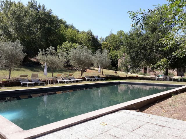 Villa in Umbria with pool and wifi