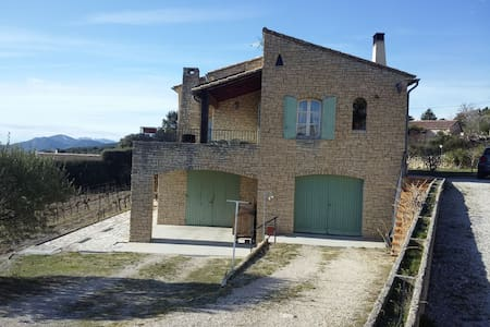 Appartement en Rdc d'une grande maison en pierres - Crillon-le-Brave - Appartamento