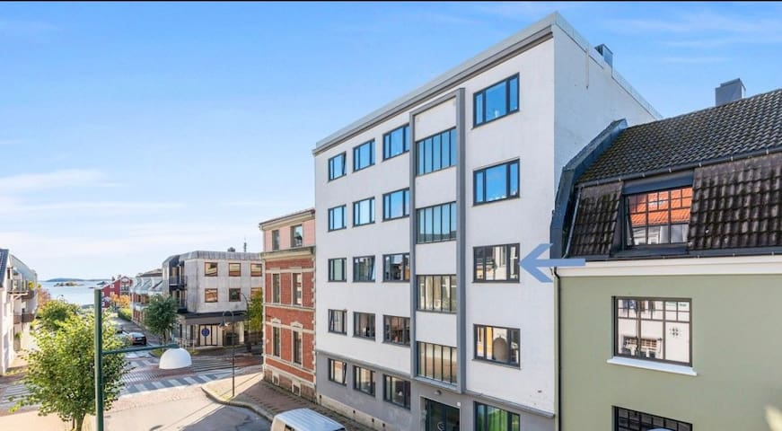 Cozy apartment in center of Kristiansand