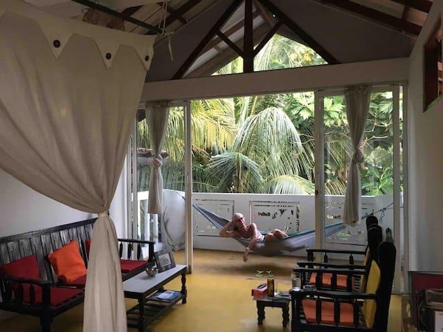 Breadfruit Garden top floor studio