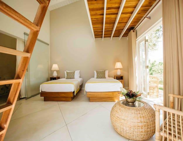 Garden Cottage Twin Room - Rukgala Retreat