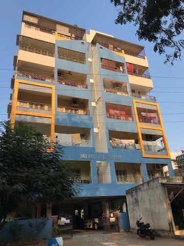Sri Balaji Residency (AC) 1 Private (AC) Bedroom.