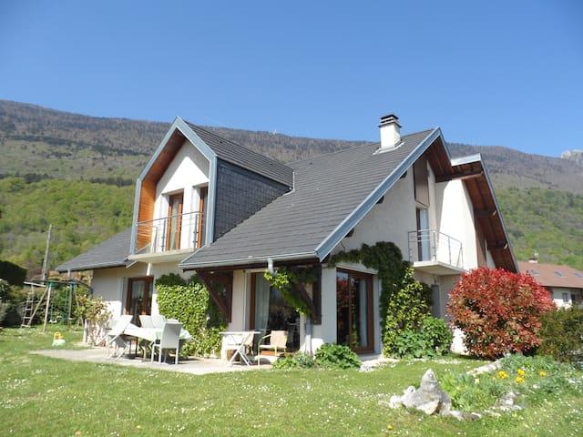 Villa entre lac et montagnes - Le Bourget-du-Lac - 一軒家