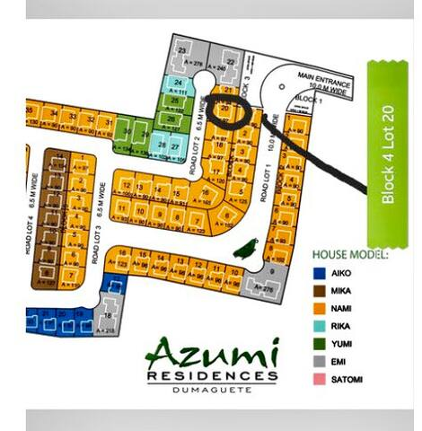 Map inside the subdivision