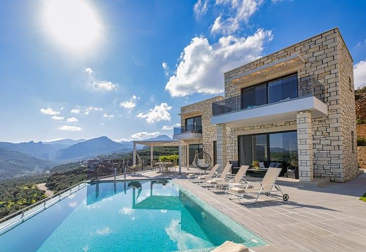 Brand new villa Argyrie 2  *breathtaking sea view*