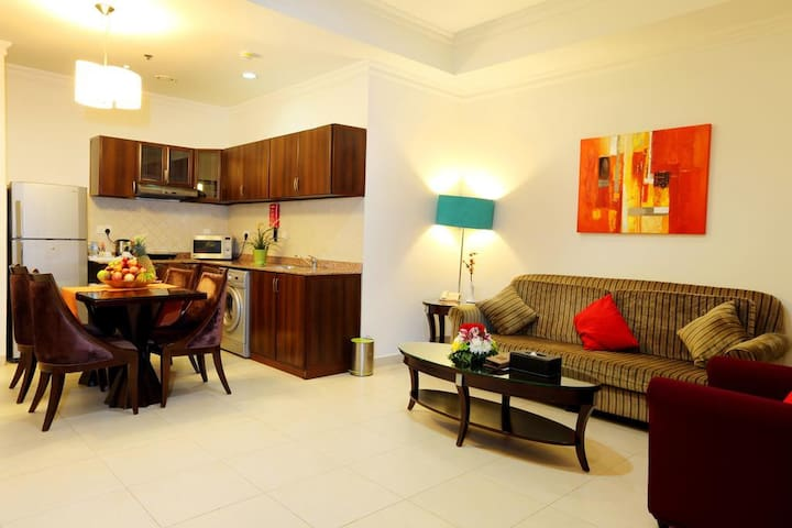 Family Two Bedroom Apartment 01