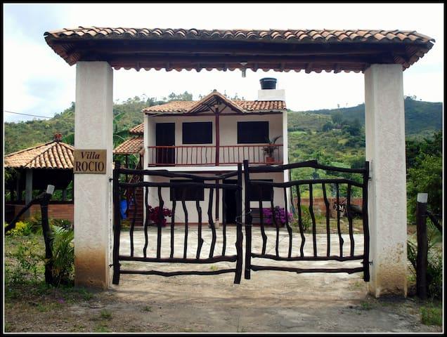 Cabaña Campestre Villa Rocio Piso 1 - Bucaramanga - Chalet