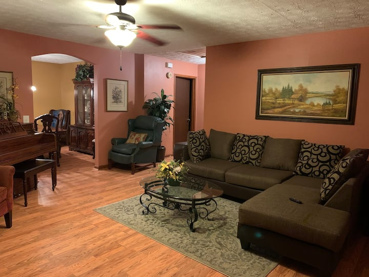 1+ acre of comfort and relaxation 25mins from ATL