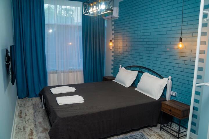 Комната в гостинице рядом с Достык Плазой