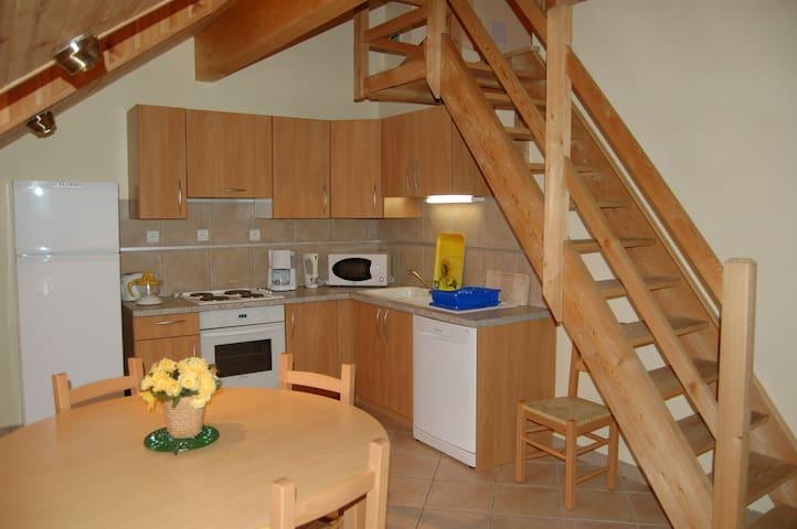 Appartement sur 2 étages, site exceptionnel - Névache